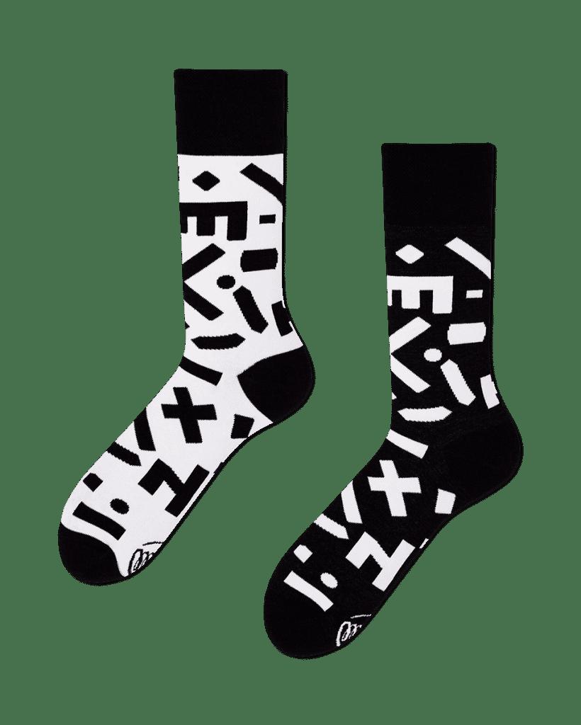 RANDOM FORMS - Sokken met verschillende vormen