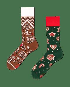 THE GINGERBREAD MAN - Kerst-peperkoek-sokken