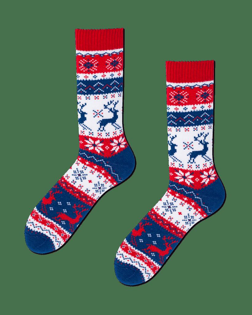 WARM RUDOLPH - Sokken met rendieren