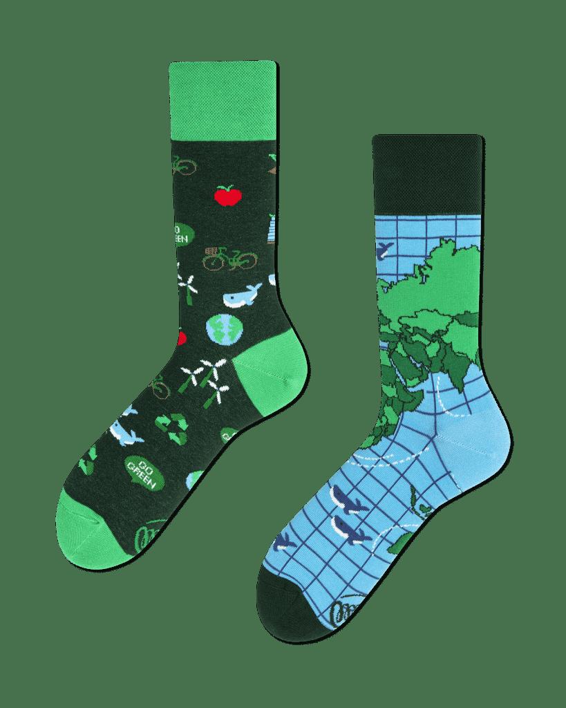 SAVE THE PLANET - Ecologische sokken