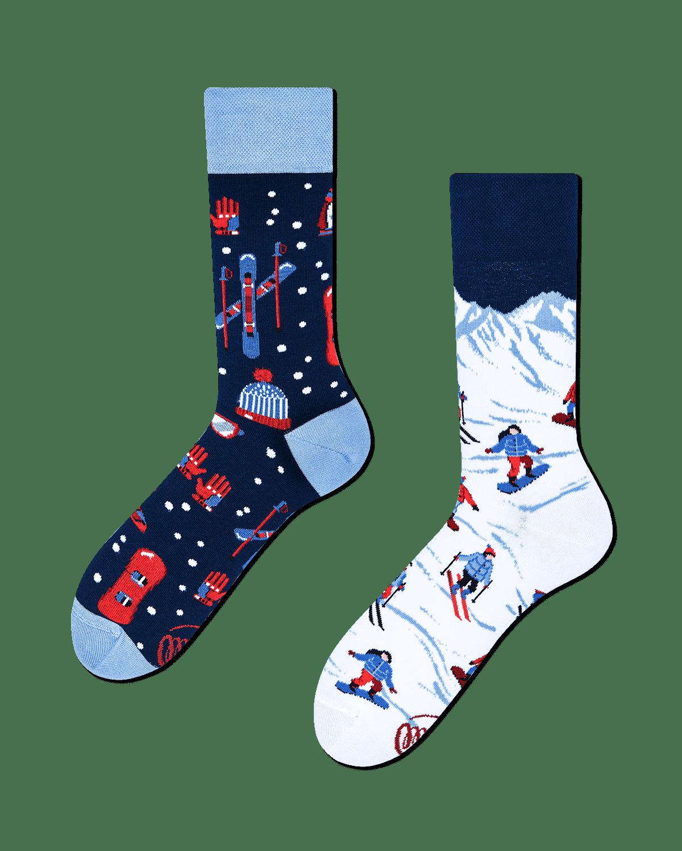 ALPINE SKI - Sokken met ski's