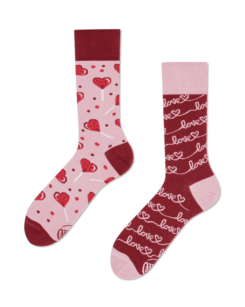 LOVE STORY - Sokken met harten