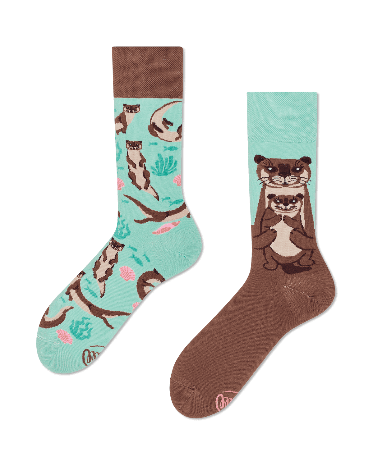 OTTER STORIES - Calcetines con nutrias