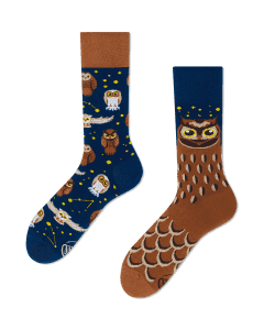 OWLY MOLY - Sokken met uilen