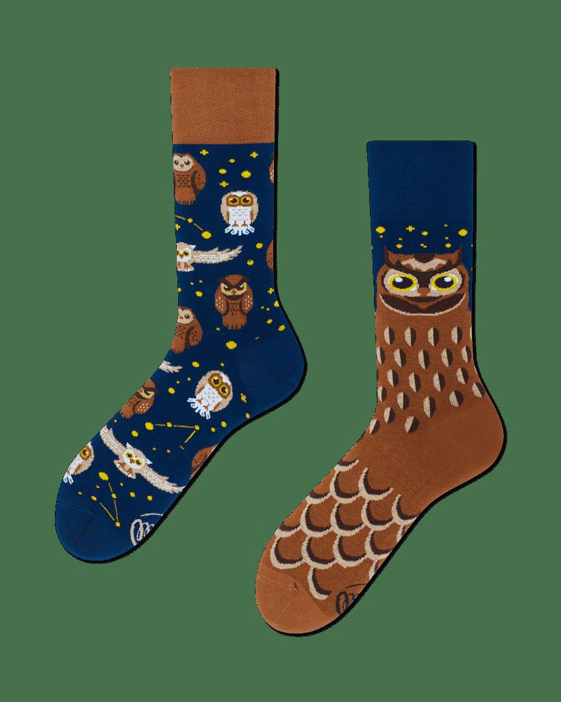 OWLY MOLY - Calcetines con búhos