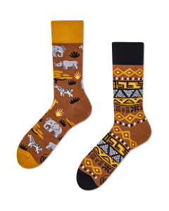 SAFARI TRIP - Calcetines con elefantes y jirafas