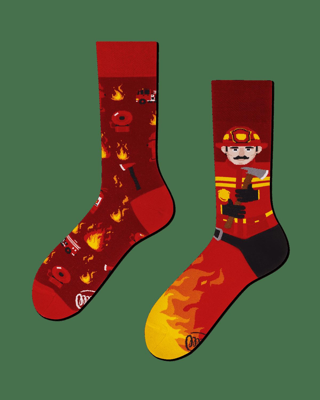 THE FIREMAN - Chaussettes motif pompier