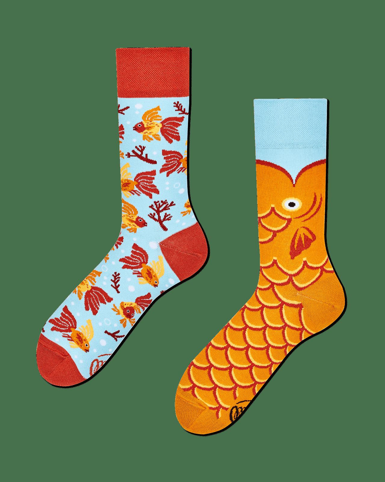 THE WISH FISH - Sokken met goudvissen