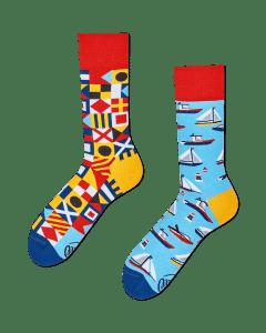 YACHT CLUB - Sokken met jachten en zeilboten