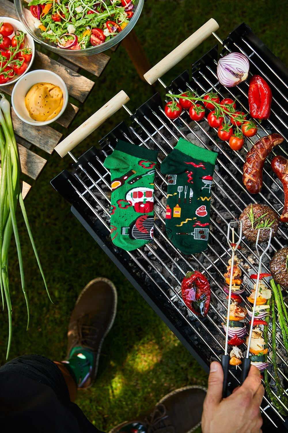 BBQ TIME LOW - Barbecue low socks