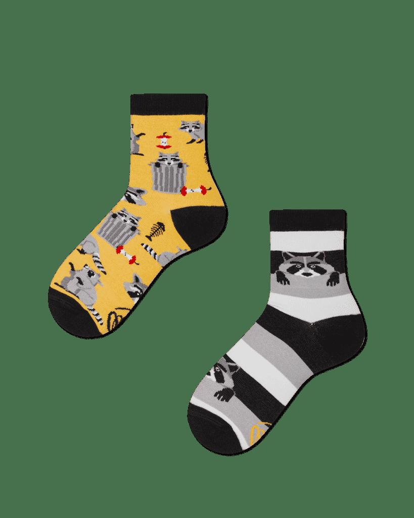 RACCOON BANDIT KIDS - Raccoon kids socks