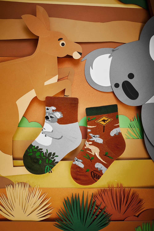 KOALITY TIME KIDS - Dziecięce skarpetki w kangury